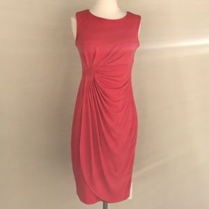 Coral Work Dress